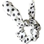 Elastike Hair, Silk pe, Shape Tjera, elastik, njollë e zezë, e bardhë, 14.5x6cm, 30PC/Shumë,  Shumë