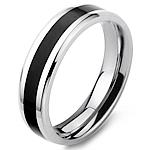 Çeliku Stainless Ring Finger, Stainless Steel, Shape Tjera, stoving llak, për njeriun, ngjyra origjinale, 6mm, :9.5,  PC