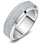 Çeliku Stainless Ring Finger, Stainless Steel, Shape Tjera, asnjë, për njeriun & Stardust, ngjyra origjinale, 7mm, :7.5,  PC