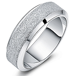 Çeliku Stainless Ring Finger, Stainless Steel, Shape Tjera, asnjë, për njeriun & i mbuluar me brymë, ngjyra origjinale, 7mm, :11,  PC