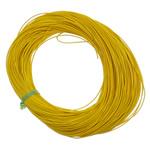 Cowhide, Shape Tjera, asnjë, asnjë, i verdhë, 1mm, : 100m, 100m/Qese,  Qese
