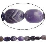 Beads kuarc bizhuteri, Ametist, Nuggets, natyror, asnjë, 13-18mm, : 2mm, :15.7Inç, 5Fillesat/Shumë,  Shumë