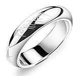 Çeliku Stainless Ring Finger, 316L Stainless Steel, Shape Tjera, asnjë, për njeriun, ngjyra origjinale, 5mm, :9.5, 3PC/Shumë,  Shumë