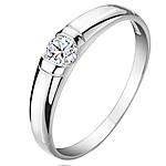 Ring Finger bizhuteri, 925 Sterling Silver, Shape Tjera, Platinum kromuar, për grua & me zirconia kub, e bardhë, 4mm, :4, 2PC/Shumë,  Shumë