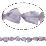 Beads kuarc bizhuteri, Ametist, Nuggets, natyror, asnjë, 12-15mm, : 2mm, :14Inç, 5Fillesat/Shumë,  Shumë