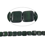 Syri Tiger Beads, Katror, natyror, asnjë, 20x6mm, : 2mm, :15.5Inç, 5Fillesat/Shumë,  Shumë