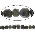 Beads labradorite, Nuggets, natyror, faceted, 9-21mm, : 1mm, :16Inç, 5Fillesat/Shumë,  Shumë