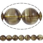Beads kuarc bizhuteri, Tym kuarc, Round, natyror, asnjë, 18mm, : 2mm, :15.7Inç, 5Fillesat/Shumë,  Shumë