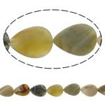 Beads Jade, Jade Xiuyan, Lot, natyror, asnjë, 18x25mm, : 2mm, :15.3Inç, 5Fillesat/Shumë,  Shumë