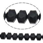 Swarovski Crystal Beads, Shape Tjera, asnjë, faceted, e zezë, 12x10x7.50mm, : 1mm, : 19.6Inç, 50PC/Fije floku,  19.6Inç,