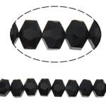 Swarovski Crystal Beads, Shape Tjera, asnjë, faceted, e zezë, 10x8x6.50mm, : 1mm, : 15.7Inç, 50PC/Fije floku,  15.7Inç,