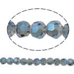 Swarovski Crystal Beads, Round, colorful kromuar, faceted, asnjë, 4mm, : 1mm, : 14.1Inç, 99PC/Fije floku,  14.1Inç,