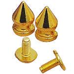 Alloy zink Claw Rivet, Plumb, ngjyrë ari praruar, asnjë, asnjë, , nikel çojë \x26amp; kadmium falas, 7x13mm, 100Sets/Qese,  Qese
