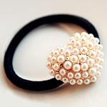 Bisht mbajtës, Alloy zink, with Gomë & Glass Pearl, Zemër, ngjyra rose ari praruar, asnjë, asnjë, , nikel çojë \x26amp; kadmium falas, 30x25mm, 15PC/Shumë,  Shumë