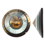 Cabochons Crystal, Kristal, Kon, asnjë, mbrapa banesë & faceted, asnjë, 40x14mm, 50PC/Qese,  Qese