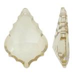 Imitim Swarovski Crystal Pendants, Kristal, Lot, asnjë, imitim kristal Swarovski, Lt Colorado topaz, 26x37.50x10mm, : 1.5mm, 50PC/Qese,  Qese