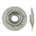 Washers Zink Alloy bizhuteri, Alloy zink, Round Flat, Ngjyra antike argjendi praruar, asnjë, asnjë, , nikel çojë \x26amp; kadmium falas, 12x2mm, : 2.5mm, 1660PC/KG,  KG