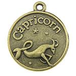 Pendants Zink Alloy, Alloy zink, Bricjapi, Ngjyra antike bronz i praruar, asnjë, asnjë, , nikel çojë \x26amp; kadmium falas, 18x21x3mm, : 1.5mm, 333PC/KG,  KG