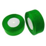 Organza Ribbon, asnjë, asnjë, e gjelbër, 3.7cm, :1000Oborr, 20PC/Shumë,  Shumë