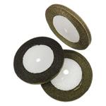Ribbon Sparkle, asnjë, asnjë, mineral verdhë, 0.7cm, :1250Oborr, 50PC/Shumë,  Shumë