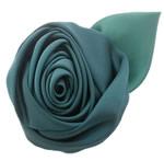 Mëndafsh, Lule, asnjë, asnjë, e gjelbër, 60x60mm, 25PC/Shumë,  Shumë