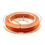 Thread Crystal, elastik, asnjë, kuq pak portokalli, 0.30mm, :10m, 50PC/Shumë,  Shumë