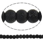 Stardust Glass Beads, Xham, Round, asnjë, e zezë, 6mm, : 1mm, : 32.2Inç, 10Fillesat/Qese, approx145Pcs/Strand,  Qese