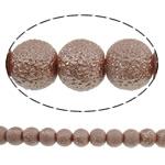 Stardust Glass Beads, Xham, Round, asnjë, bojë kafe, 10mm, : 1mm, : 31.5Inç, 10Fillesat/Qese, approx83Pcs/Strand,  Qese