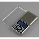 Digital Scale Pocket, Stainless Steel, with Silicone & Plastik, Telefon, asnjë, asnjë, ngjyra origjinale, 120x60x20mm,  PC