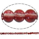 Glass Beads kërcitje, Xham, Round, asnjë, dy-ton, asnjë, 5mm, : 1mm, : 31.5Inç, 10Fillesat/Qese, approx212Pcs/Strand,  Qese