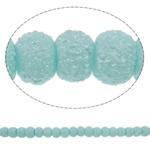 Stardust Glass Beads, Xham, Round, asnjë, dritë blu, 5mm, : 1mm, : 31.5Inç, 10Fillesat/Qese, approx227Pcs/Strand,  Qese