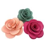 Leckë, Lule, asnjë, asnjë, ngjyra të përziera, 50x50mm, 60PC/Shumë,  Shumë