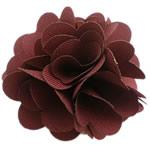 Leckë, Lule, asnjë, asnjë, Ngjyra e kuqe kafe, 75x75mm, 60PC/Shumë,  Shumë