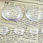 Cabochons Glass, Xham, Kube, asnjë, i tejdukshëm, qartë, 12x12x4mm, 1600PC/Qese,  Qese