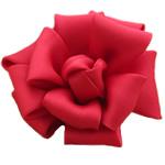 Saten Ribbon, asnjë, asnjë, i kuq, 70x70mm, 30PC/Shumë,  Shumë