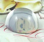 Cabochons Glass, Xham, Kube, asnjë, i tejdukshëm, qartë, 25x25x12mm, 130PC/Qese,  Qese