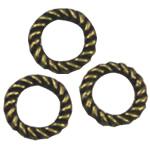 Alloy zink Lidhja Ring, Round, Ngjyra antike bronz i praruar, asnjë, asnjë, , nikel çojë \x26amp; kadmium falas, 10x10mm, 500PC/Qese,  Qese