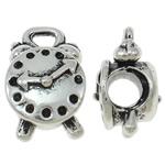 Beads Alloy zink Beil, Orë, Ngjyra antike argjendi praruar, asnjë, asnjë, , nikel çojë \x26amp; kadmium falas, 9.50x15.50x10mm, : 2x3mm, 10PC/Qese,  Qese