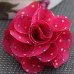 Leckë, Lule, asnjë, asnjë, i kuq, 45x45mm, 80PC/Shumë,  Shumë