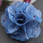 Leckë, Lule, asnjë, asnjë, blu, 45x45mm, 80PC/Shumë,  Shumë