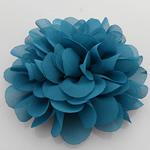 Silk pe, Lule, asnjë, asnjë, bruz blu, 90x90mm, 40PC/Shumë,  Shumë