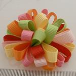 Saten Ribbon, asnjë, asnjë, multi-colored, 50x50mm, 40PC/Shumë,  Shumë