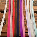 Saten Ribbon, asnjë, asnjë, ngjyra të përziera, 5mm, 400m/Shumë,  Shumë