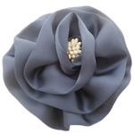Saten Ribbon, with Plastike Pearl, asnjë, asnjë, gri, 100x100mm, 24PC/Shumë,  Shumë