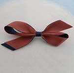 Saten Ribbon, Bowknot, asnjë, asnjë, asnjë, 85x40mm, 100PC/Shumë,  Shumë