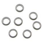 Edelstahl Verbindungsring, Kreisring, originale Farbe, 4.50x1.50mm, Bohrung:ca. 2.5mm, 2000PCs/Tasche, verkauft von Tasche