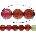 Natürliche Drachen Venen Achat Perlen, Drachenvenen Achat, rund, verschiedene Größen vorhanden, farbenfroh, Bohrung:ca. 1-1.2mm, Länge:ca. 15 ZollInch, verkauft von Menge