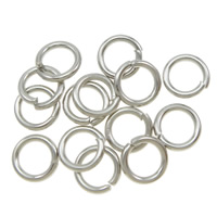Iron Closed Jump Ring, Donut, plated, more colors for choice, 6x1.0mm, Approx 9000PCs/KG, Sold By KG