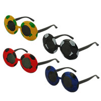 Plastic Glasses, 2014 Brazil World Cup gift, mixed colors, 136mm, 15mm, 53x53mm, 130mm, 100PCs/Bag, Sold By Bag
