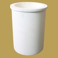 Quarz Schmelztiegel, Zylinder, weiß, 69x87mm,49mm, 4PCs/Menge, verkauft von Menge